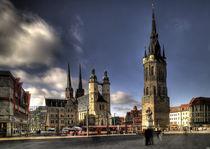 marktplatz zu halle by André Zeischold