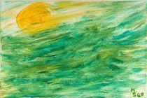 Meeresgrün von Margit-Maria Schneider
