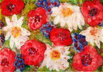 Sommerblumen von Margit-Maria Schneider