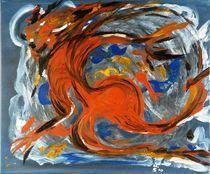 Der mit dem Fluss tanzt... by Margit-Maria Schneider