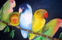 Sittiche, Papageien von ERIKA FUSS