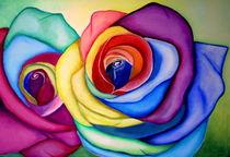 abstrakte Rosen von ERIKA FUSS