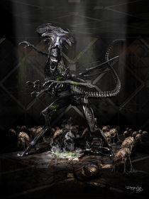 Inevitable- Alien queen von Fernando Rodriguez