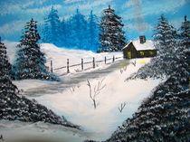 Winterlandschaft by Vera Markgraf