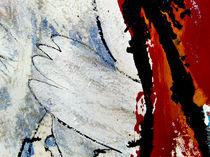 BLUE IDEA - world with birds 318 von Monika Nelting