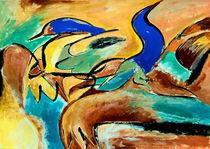 BLUE IDEA® - we share the world with birds 303 von Monika Nelting