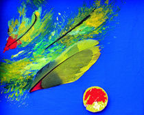 BLUE IDEA - Sibylles Papagei von Monika Nelting