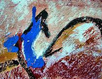 BLUE IDEA® - world with birds 307 von Monika Nelting