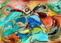 BLUE IDEA® - große Brachvögel 192 von Monika Nelting