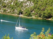 Segelboot von Ute Bauduin