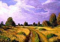 Heidelandschaft 2 von Holger Hausmann