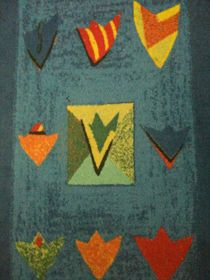 Abstrakt in bunt by Heike Schuster