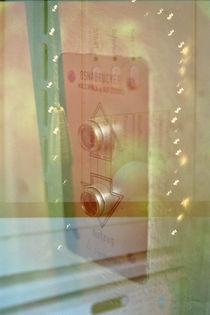 Der Lampenpendel im Fahrstuhl von Corinna Laumeyer