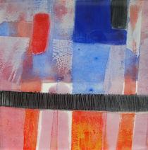 Das Blau und Rot von Ilona Metscher