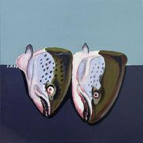 Fischmahlzeit von Ilona Metscher