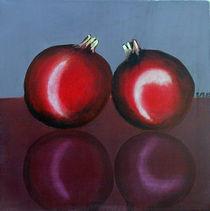 Zwei Granatäpfel von Ilona Metscher