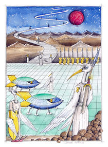Rückkehr nach Antares by Wolfgang Rösler