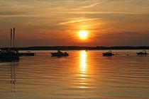 Sonnenuntergang VI von Erwin Maier