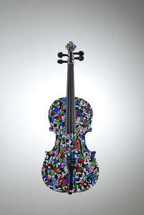 Violine 'Frühling' von Elena Beresnjak