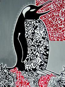 Singender Pinguin by Elena Beresnjak