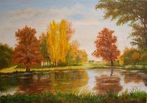 Herbstlandschaft by Kurt Luebbert