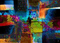 Farben, Klarlack und Konfetti von Thomas Bader