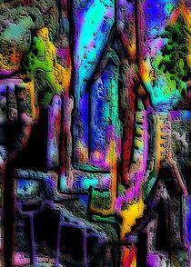 Blaue Tore in die Stadt by Thomas Bader