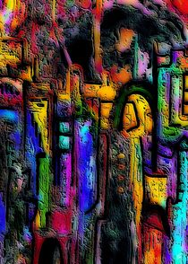 Rotes Tor aus der Stadt von Thomas Bader