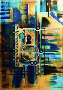 Linear-Uhr von Thomas Bader