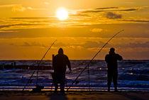 Fischen zur besten Tageszeit by Sven Dressler