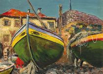 Fischerboote von Norbert Hergl
