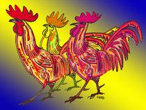 Chicken Clan by Norbert Hergl