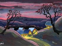 Wenn es Nacht wird im Tal by Norbert Hergl