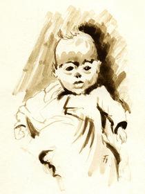 Baby Girl von Norbert Hergl