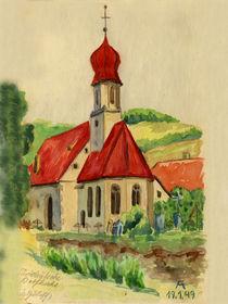 Süddeutsche Dorfkirche von Norbert Hergl