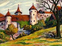 Dorfidylle von Norbert Hergl