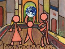 Where do the children play? by Norbert Hergl
