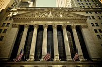 New York Stock Exchange by Frank Walker