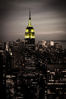Empire State Building bei Nacht by Frank Walker