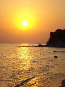 Sonnenuntergang in Chalkidiki by Theophano Vichou