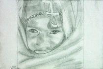 Portrait Massaikrieger 1 von irimo
