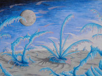 Methaneiswüste  auf  Triton by Rudolf Zentgraf