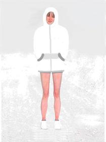 Kerstin, die  Coole ! by Rudolf Zentgraf