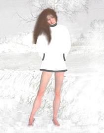 Steffi, die  kalte  Schöne ! by Rudolf Zentgraf