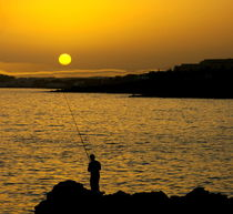 Angler und das Meer by laakepics