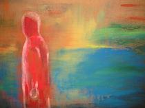 Der rote Mann und das Meer by dagmar berger