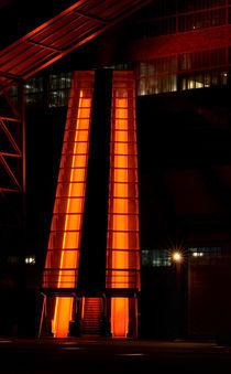 Rolltreppe Kunst Zollverein von friedel