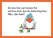 Geburtstagsgratulation by Peter Heinrichs