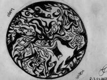 Der lustige Baum              Mandala by wachsma