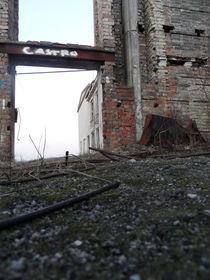 Abrisshaus ohne Dach by wachsma